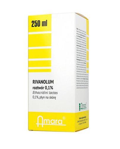 AMARA RIVANOL 0,1% - 250 ml   - Apteka internetowa Melissa