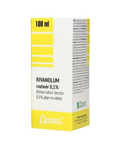 AMARA RIVANOL 0,1% - 100 ml - Apteka internetowa Melissa