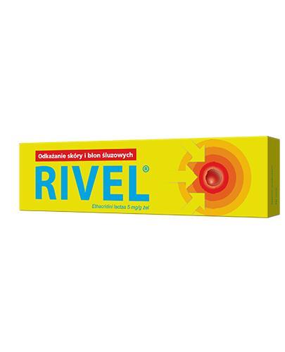 RIVEL 0,5 Żel - 30 g - Apteka internetowa Melissa