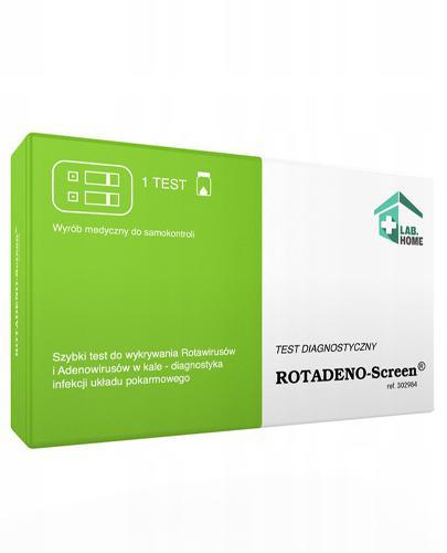 Rotadeno-Screen Test diagnostyczny - 1 szt. - opinie, cena, właściwości - Drogeria Melissa