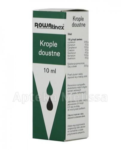 ROWATINEX Krople doustne - 10 ml - Apteka internetowa Melissa