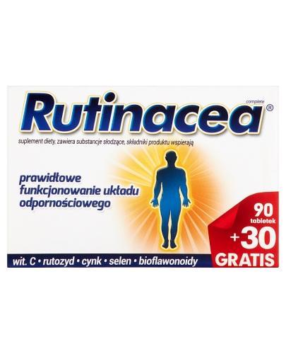 RUTINACEA COMPLETE - 90 tabl. + 30 tabl. - Apteka internetowa Melissa
