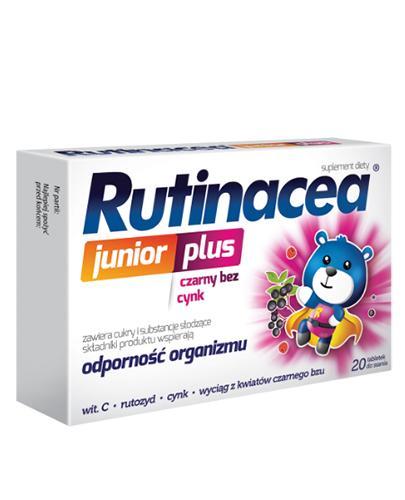 Rutinacea Junior Plus - 20 tabl. do ssania. Na odporność - cena, opinie, właściwości  - Apteka internetowa Melissa