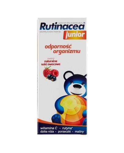 RUTINACEA JUNIOR Syrop - 100 ml - Apteka internetowa Melissa