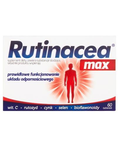 RUTINACEA MAX - 60 tabl. - Apteka internetowa Melissa