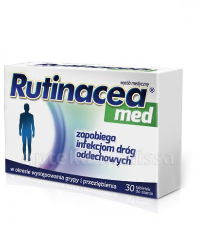 RUTINACEA MED - 30 tabl. do ssania - Apteka internetowa Melissa