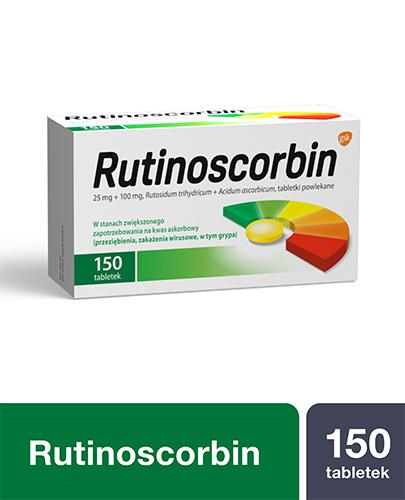 RUTINOSCORBIN - 150 tabl. na odporność