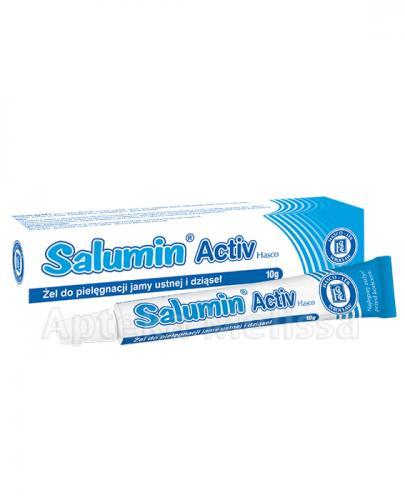 SALUMIN ACTIV żel do pielęgnacji jamy ustnej - 10 g - Drogeria Melissa
