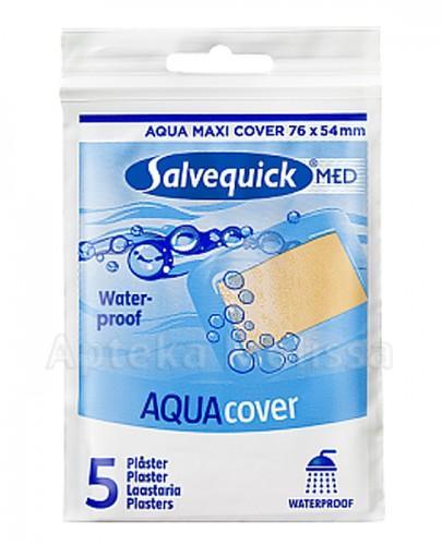 SALVEQUICK MED AQUA COVER Plaster na większe rany - 5 szt. - Apteka internetowa Melissa