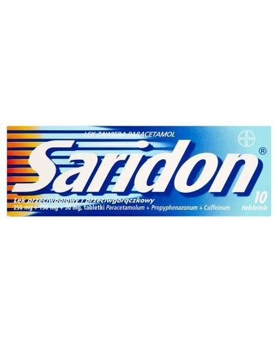 SARIDON - 10 tabl. - Apteka internetowa Melissa