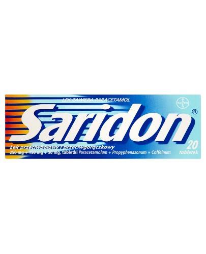 SARIDON - 20 tabl. - Apteka internetowa Melissa