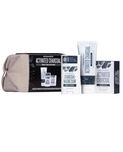 SCHMIDT'S ACTIVATED CHARCOAL Dezodorant - 58 ml + Pasta do zębów - 100 ml + Mydło - 142 g Do pielęgnacji ciała i jamy ustnej - cena, opinie, stosowanie - Apteka internetowa Melissa
