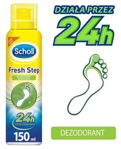 SCHOLL FRESH STEP Dezodorant do stóp - 150 ml - Apteka internetowa Melissa