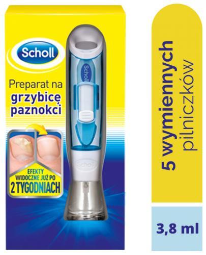 SCHOLL FUNGAL NAIL TREATMENT Preparat przeciwgrzybiczny do paznokci - 3,8 ml - Drogeria Melissa