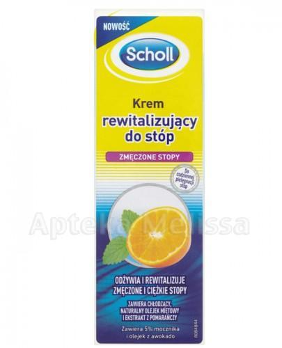 SCHOLL Krem rewitalizujący do zmęczonych stóp - 75 ml - Apteka internetowa Melissa