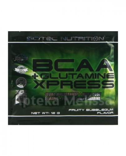 SCITEC BCAA+glutamine Xpress 12g bubble gu