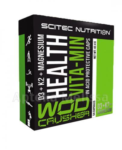 SCITEC HEALTH VITA-MIN D3 + K2 + Magnesium - 54 kaps. - Apteka internetowa Melissa