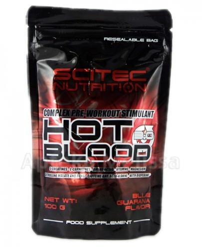 SCITEC HOT BLOOD 3.0 Blue guarana - 100 g