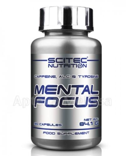 SCITEC MENTAL FOCUS Kofeina, ALC i tyrozyna - 90 kaps. - Apteka internetowa Melissa