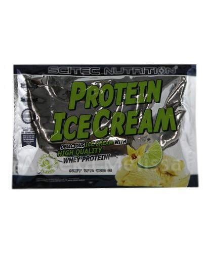 SCITEC Protein ice cream 100g van-lime