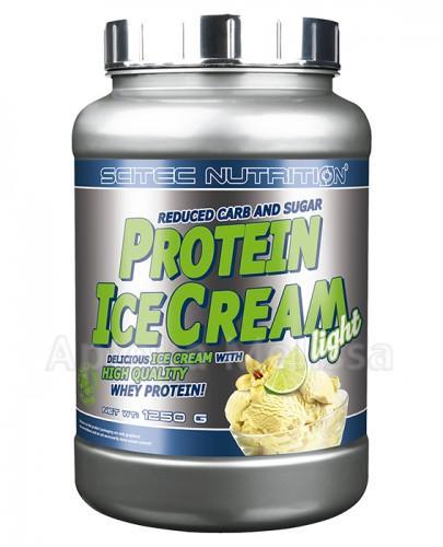 SCITEC PROTEIN ICE CREAM Light smak waniliowo-limonkowy - 1250 g  - Apteka internetowa Melissa