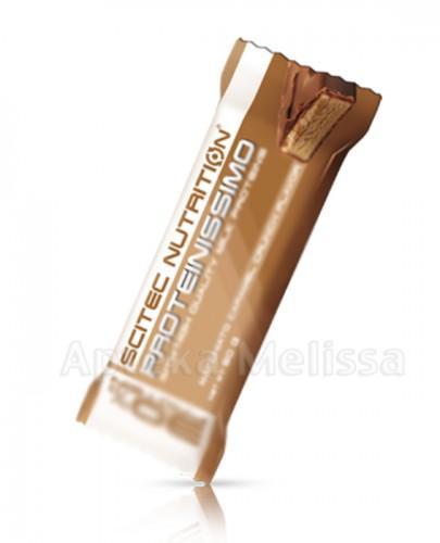 SCITEC PROTEINISSIMO  Baton proteinowy o smaku ciastko kawowo-czekoladowe - 30 g