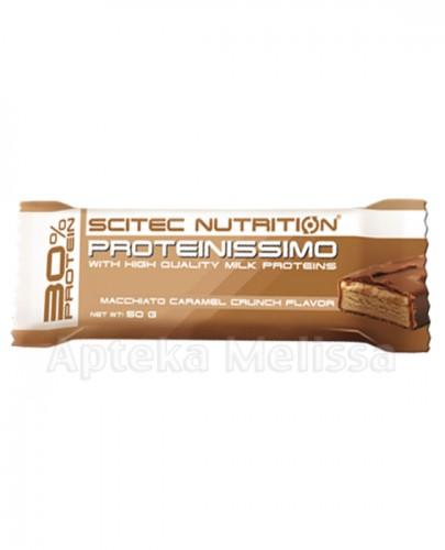 SCITEC NUTRITION PROTEINISSIMO Baton proteinowy o smaku wanilii - 50 g - Apteka internetowa Melissa