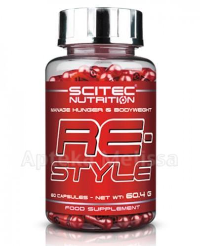 SCITEC RE-STYLE - 120 kaps