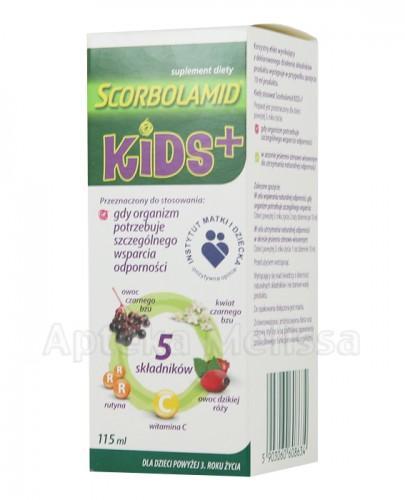 SCORBOLAMID KIDS+ Syrop - 115 ml - Apteka internetowa Melissa
