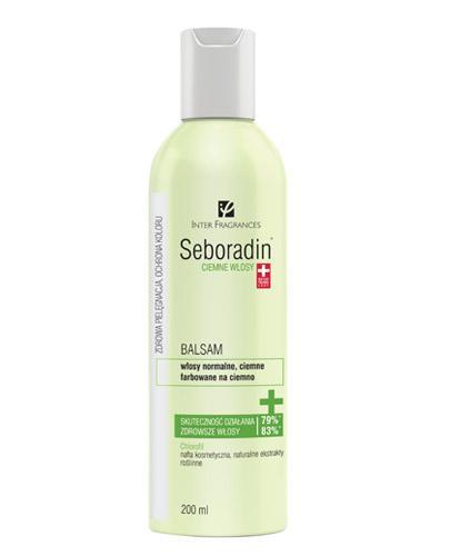 SEBORADIN Balsam ciemne włosy - 200 ml - Drogeria Melissa