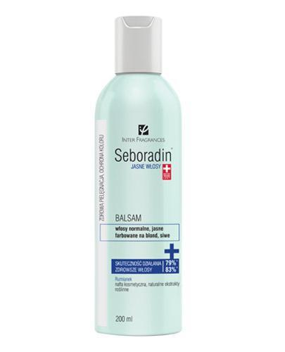 SEBORADIN Balsam jasne włosy - 200 ml - Apteka internetowa Melissa