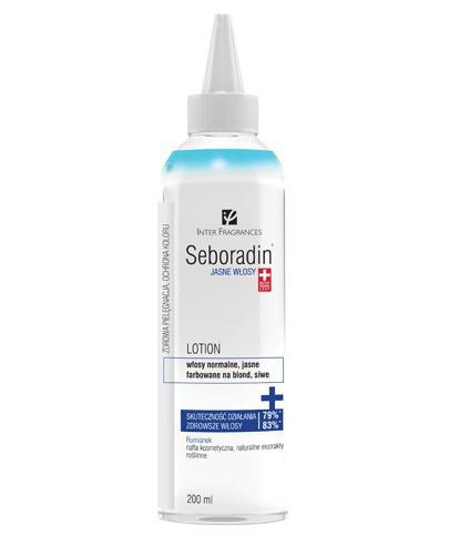 SEBORADIN Lotion jasne włosy - 200 ml - Drogeria Melissa