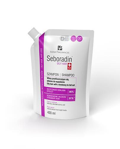 Seboradin Niger Szampon do włosów przetłuszczających się i skłonnych do wypadania zapas - 400 ml