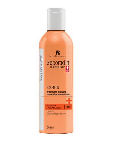 SEBORADIN Szampon regenerujący do włosów zniszczonych farbowaniem i modelowaniem - 200 ml - Drogeria Melissa