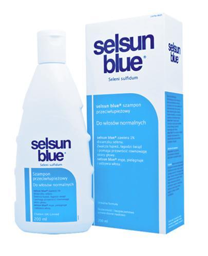SELSUN BLUE Szampon Przeciwłupieżowy do włosów normalnych - 200 ml - Apteka internetowa Melissa