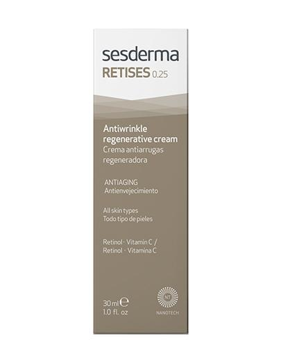 SESDERMA RETISES Regenerujący krem przeciwzmarszczkowy 0,25% - 30 ml - Apteka internetowa Melissa