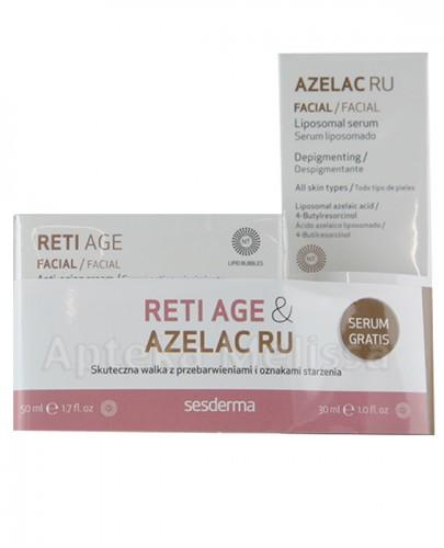 SESDERMA RETI AGE Krem - 50 ml + SESDERMA AZELAC RU Serum - 30 ml  - Apteka internetowa Melissa
