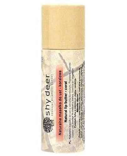 Shy Deer Naturalne masełko do ust - koralowe - 12 ml - cena, opinie, wskazania