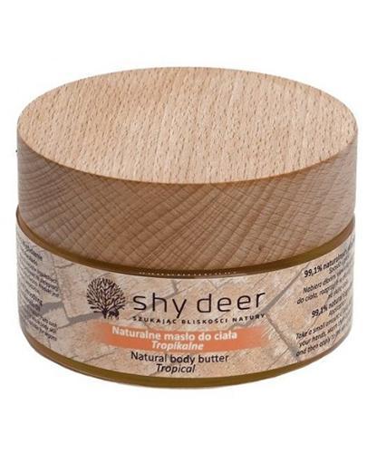 Shy Deer Naturalne masło do ciała tropikalne - 100 ml -  cena, opinie, wskazania - Drogeria Melissa