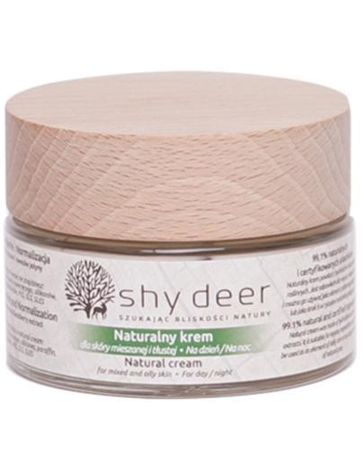 Shy Deer Naturalny krem dla skóry mieszanej i tłustej - 50 ml - cena, opinie, właściwości