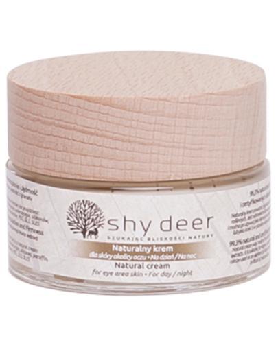 Shy Deer Naturalny krem dla skóry okolicy oczu - 30 ml - cena, opinie, wskazania - Drogeria Melissa