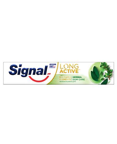SIGNAL LONG ACTIVE HERBAL GUM CARE Pasta do zębów - 75 ml - cena, opinie, właściwości