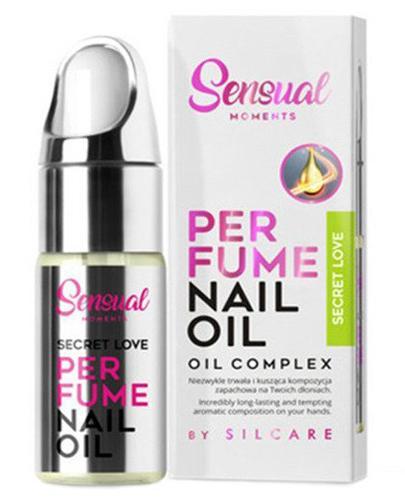 Silcare Sensual Moments Perfume Nail Oil Secret Love Ekskluzywna perfumowana oliwka do paznokci i skórek -10 ml - cena, opinie, właściwości - Drogeria Melissa