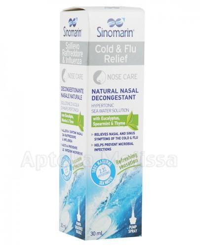 SINOMARIN Na grypę i przeziębienie - 30 ml - Apteka internetowa Melissa