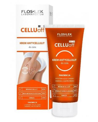 FLOS-LEK SLIM LINE CELLU OFF Krem antycellulit do ciała - 200 ml - Apteka internetowa Melissa