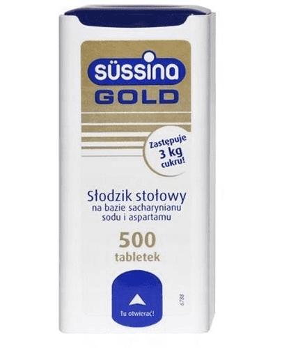 SUSSINA GOLD Słodzik - 500 tabl. + 150 tabl. - Apteka internetowa Melissa