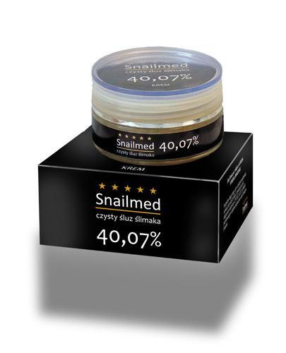 Snailmed Krem wielozadaniowy ze śluzem ślimaka - 50 ml - cena, opinie, właściwości