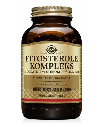 SOLGAR FITOSTEROLE KOMPLEKS - 100 kaps. - Apteka internetowa Melissa