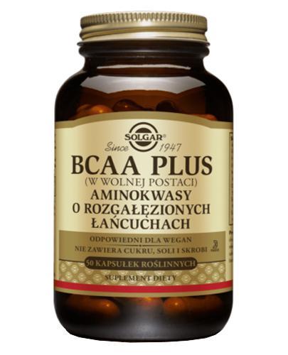 SOLGAR 55 BCAA Plus Aminokwasy rozg łań50k