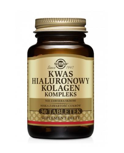 SOLGAR KWAS HIALURONOWY - 30 tabl. - Apteka internetowa Melissa